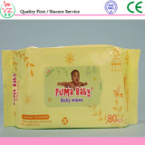 80 PCS Economic Spunlace Non-Woven Baby Care Wet Wipe