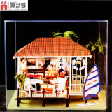 Educational Craft Wooden DIY House for Gift