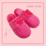 Winter Ladies Slipper with Wool Knit Soft Nice Plush