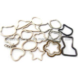 New Design Metal Shaped Split Key Rings