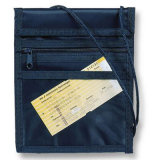Good Sale Multifunction Neck Wallet for Passport Holder