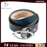 Factory Price Custom Logo Metal Buckle Leather Waist Belt for Men