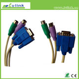 Kvm Cable 60pin Cable RJ45 Female Cable DC5.5 Cable USB-Ttl