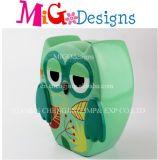 Wholesale Katong Owl Banker Ceramic Saving Box
