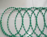 PVC Coated Concertina Razor Barbed Wire