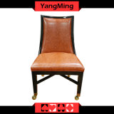 Retro European Solid Wood Chair Casino Poker Chair Ym-Dk15