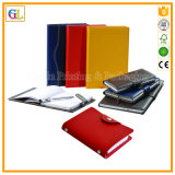 Custom PU Hardcover Paper Diary Notebook