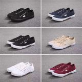 Unisex Canvas Shoes Woman Man Causal Shoes Fabric Rubber Sole Shoes