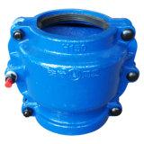 Pipe Repair Clamp H150, Pipe Repair Coupling, Repair Pipe Clamp for Cast Iron Pipe and Ductile Iron Pipe. Leaking Pipe Quick Repair. Blue Color