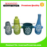Custom Made Reusable Decorative Ceramic Vase with Handle
