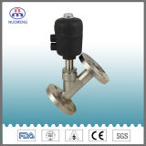Sanitary Stainless Steel Pneumatic Flange Type Angle Seat Valve (DIN-No. RJZ1608)