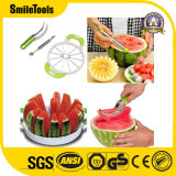 Stainless Steel Watermelon Slicer Knife with Melon Cutter & Melon Baller