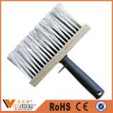 White PP Bristle Plastic Handle Ceiling Broom Duster Brush