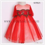 High Quality Kids Clohtes Birthday Dress Kids Indian Dress Kids Princess Dress My829