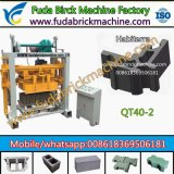 High Quality Soil/Concrete Block Machine of China Manufacturer