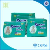 China Factory Wholesale High Quality Disposable Sleepy Sunny Baby Diaper in Bales