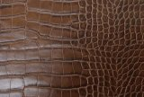 High Quality Durable Embossed PU PVC Bag Handbag Leather (K539)