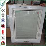 PVC Double Glazed Hand Crank Windows with Blind Inside