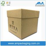Bespoke Dongguan Carton Storage packaging Kraft Paper Gift Candle Box