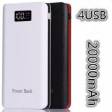 Hot Items 20000mAh Power Bank with 4u 2.1A Quick Charger