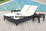 Outdoor Furniture Beach Chair Chaise Lounge Sun Lounger Daybed (BG-MT12)