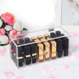 Customized High Quality Square Acrylic Lipstick Storage Box
