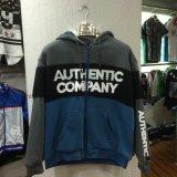 Fashion Men′s Warm Zip-up Fleece Coat with Fur in Adult Sport Clothes Fw-8615