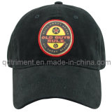 Print Applique Embroidery Washed Cotton Twill Sport Golf Cap (TMB9023)