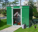 Garden Tool Shed, Hot DIP Galvanised Steel Sheet as The Material