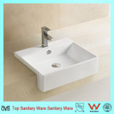 Hot Selling Semi Rectengular Hand Wash Basin
