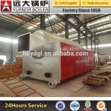 Wood Pellet Biomass Fired Hot Water Boiler with Economizer
