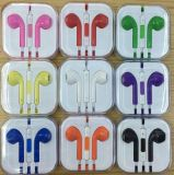 Colorful 3.5mm Earbuds Rich Bass Headphones with Remote and Mic