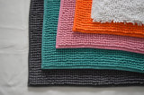 Fashionable and Stylish Chenille Anti-Slip Mat/Rug for Home Use