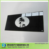 4mm5mm Tempered Printing Glass Panel for Kitchen Hood