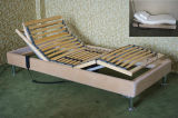 Slat Adjustable Bed with Surrounding