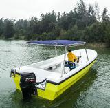 22FT Motor Recreational Fiberglass Sports Motor Fishing Boats for Sale Yacht