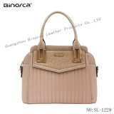 Formal Classical PU Handbag for Office Lady, PU Leather Products, Handmade Products, Excellent Workmanship, Good Packing, Fast Delivery Date