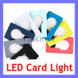 Portable Wallet Light Book LED Credit Card Lamp Promotion Gift Christmas Light