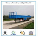 2 Axles Side Wall Semi Trailer From Manufacturer