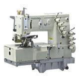 4-Needle Flat-Bed Double Chain Stitch Sewing Machine