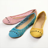 Flat Comfortable Ladies Shoes (JN-F13024)