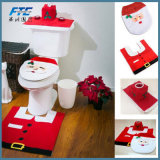 3PC/Set Christmas Santa Claus Bathroom Toilet Seats Cover Christmas Decoration