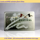 Sliver Card Made Plastic with Magnetic Stripe for ID