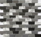 Brick Pattern Polished Wall Flooring Tile White Marble Mosaic