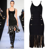 Summer Sexy Bodycon Show Thin Fringed Lady Clothes