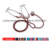 Dual Head Stethoscope for Teaching Use with Two Binaural (SW-ST10B)