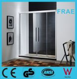 Double Sliding Shower Door Glass Shower Room Two Fix Two Sliding Shower Enclosure