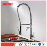 China Brass Chrome Faucet Kitchen, Pull out 2 Way Kitchen Faucet Sink Mixer