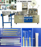 High Speed Single Straw Packing Machine by Paper/ Plastic Film