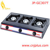 Hot Three Burner Gas Cooker with Grey Coating Jp-Gc307t